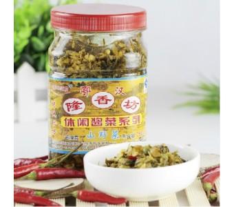 武汉隆香坊 腌菜
