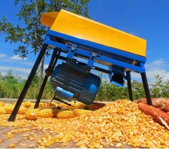 小型家用电动玉米脱粒机