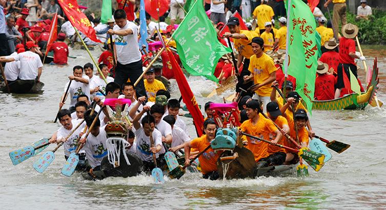 西溪龙舟旅游节