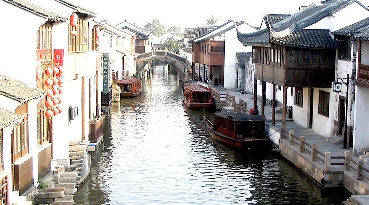 杭州乌镇水乡  风景如画 (2)