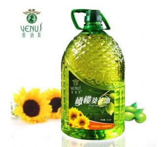 维纳斯食用油 非转基因 橄榄葵花籽油5L
