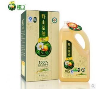野山茶油5L 井冈山茶油 物理压榨一级 纯正茶籽油茶花油