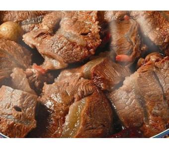 山西特产 冠云 平遥牛肉 200g*2 大块酱牛肉 真空包装