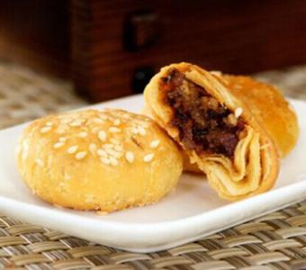 金华梅干菜扣肉酥饼榚点小吃零食特产