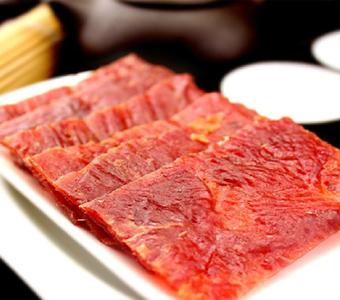 心连心靖江特产休闲零食品林鹤蜜汁香辣猪肉脯猪肉干