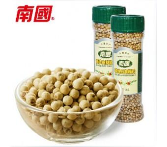 胡椒粒 南国精选白胡椒125gX2瓶正宗海南兴隆胡椒调味品