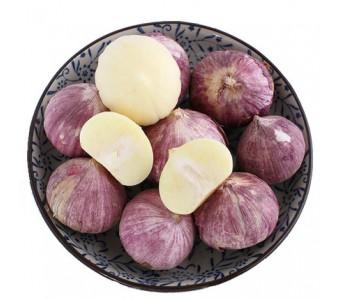 有 特级紫皮大蒜 独头蒜4斤 2014新鲜蔬菜