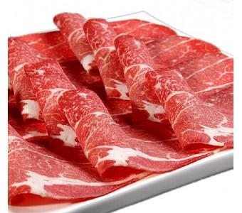 肥牛卷火锅牛肉卷 雪花肥牛片牛肉片新鲜火锅食材 200g*4盒装单层