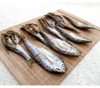 烤新鲜大河鱼 淡水鱼干 特产