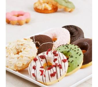 圈甜甜圈套餐组合 小吃点心食品零食糕点