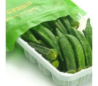 亚细亚田园 果蔬干 黄秋葵脆片干 脆片即食蔬菜干70g