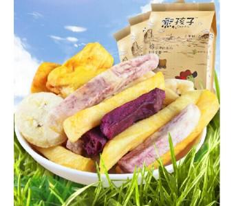越南综合蔬果干235g*3蔬菜水果干休闲零食脱水综合果蔬干