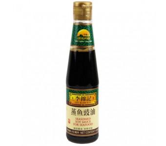 李锦记 蒸鱼豉油 410ml 调料清蒸海鲜炒饭剁椒鱼头