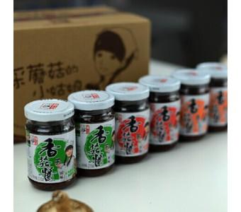 仲景香菇酱 6瓶装香菇酱 经典组合