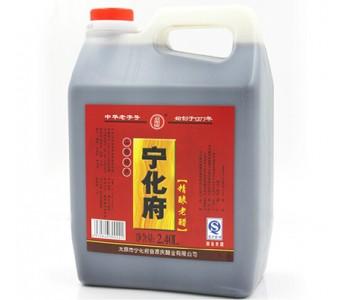正宗山西特产老陈醋 宁化府醋2400ml