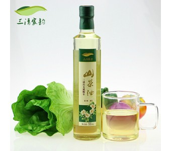 农家自制自榨 有机茶籽油