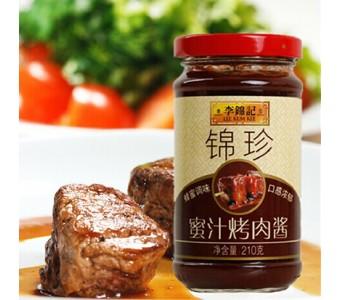 李锦记锦珍蜜汁烤肉酱210g