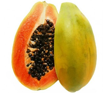 海南 新鲜水果 热带 红心水果木瓜 养颜丰胸养生 3斤装 2-3个包邮