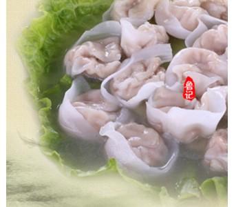 潮州传统手工鱼皮饺/鱼饺/鱼册/鱼角