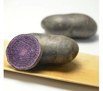黑金刚紫色土豆 秘鲁马铃薯新鲜蔬菜 3斤顺丰包邮