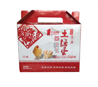 壹品-农家土鸡蛋 纯正农村土鸡蛋(一箱)