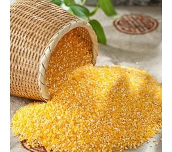 鹤香有机玉米碴 东北农家自产 五谷杂粮 营养食品纯绿色真空包装