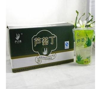 芦荟水果肉 300gX30包/箱