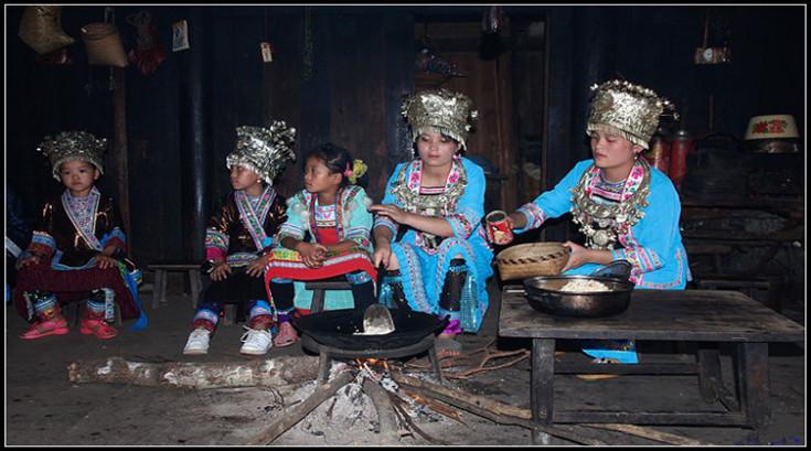 """侗族的吃""""煮油茶"""" (4)"""