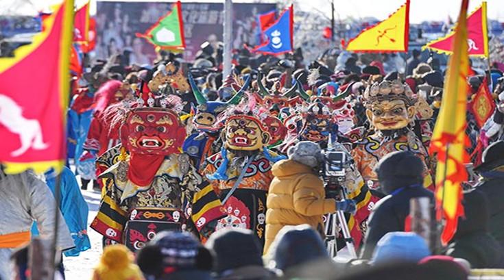 查干湖冬捕传承千年渔猎文化 (4)