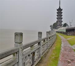 海宁盐官观潮景区 (1)