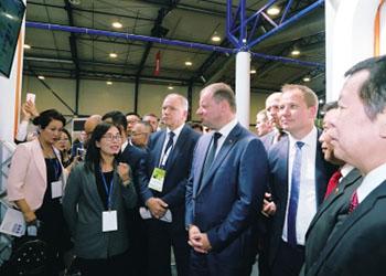 中国农企亮相立陶宛农业展